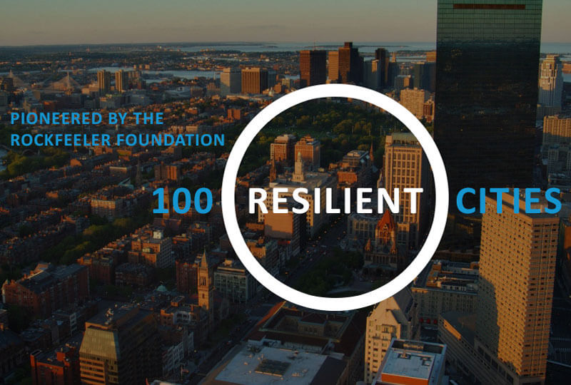 100 Resilient Cities with Rockefeller Foundation